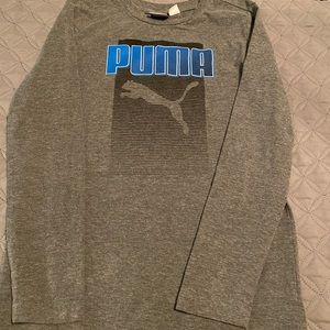 Boys puma long sleeve